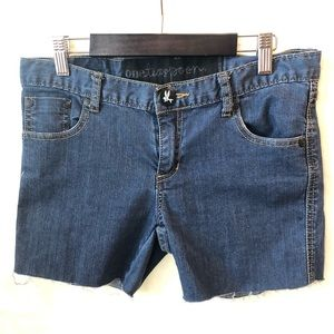 One Teaspoon Cutoff Raw Hem Jean Shorts